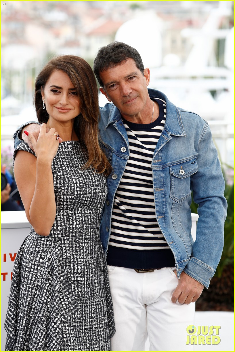 penelope cruz antonio banderas pain glory photo call cannes 254293659