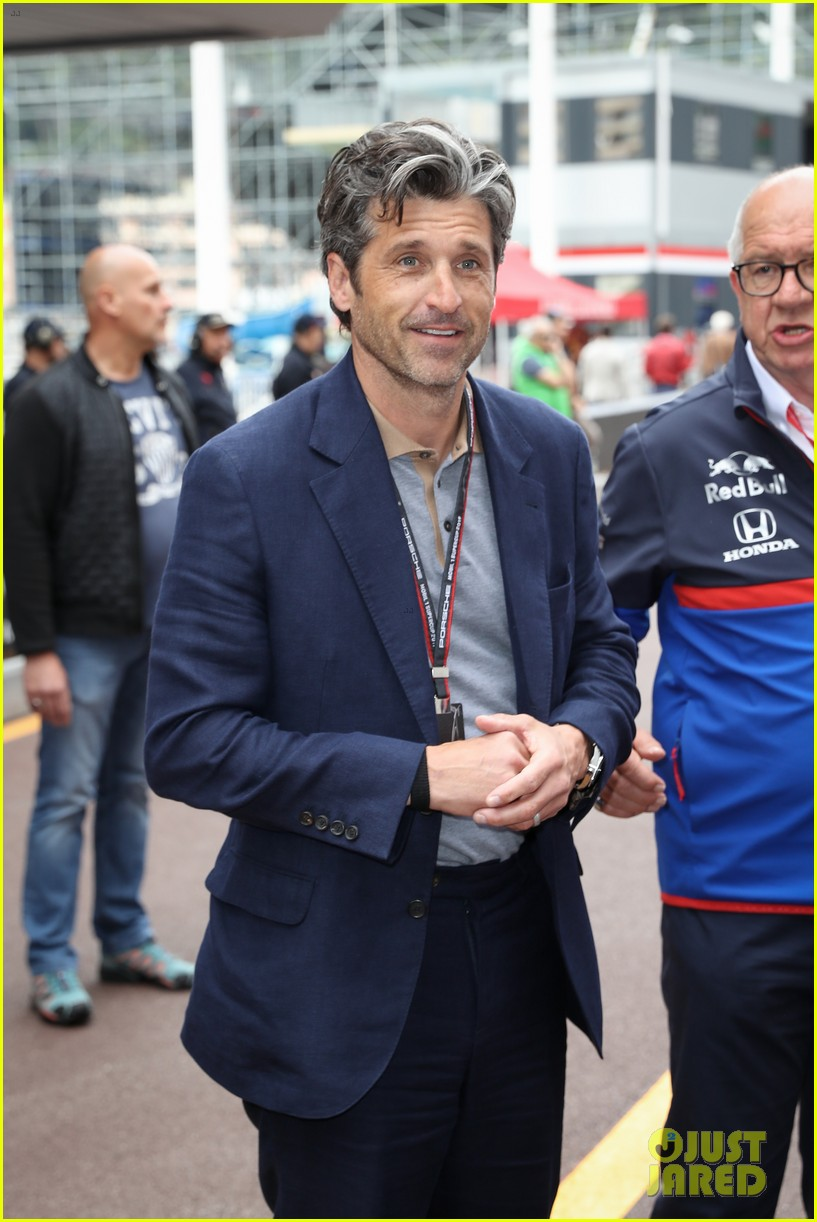 Patrick Dempsey Suits Up For Grand Prix 2019 In Monaco Photo