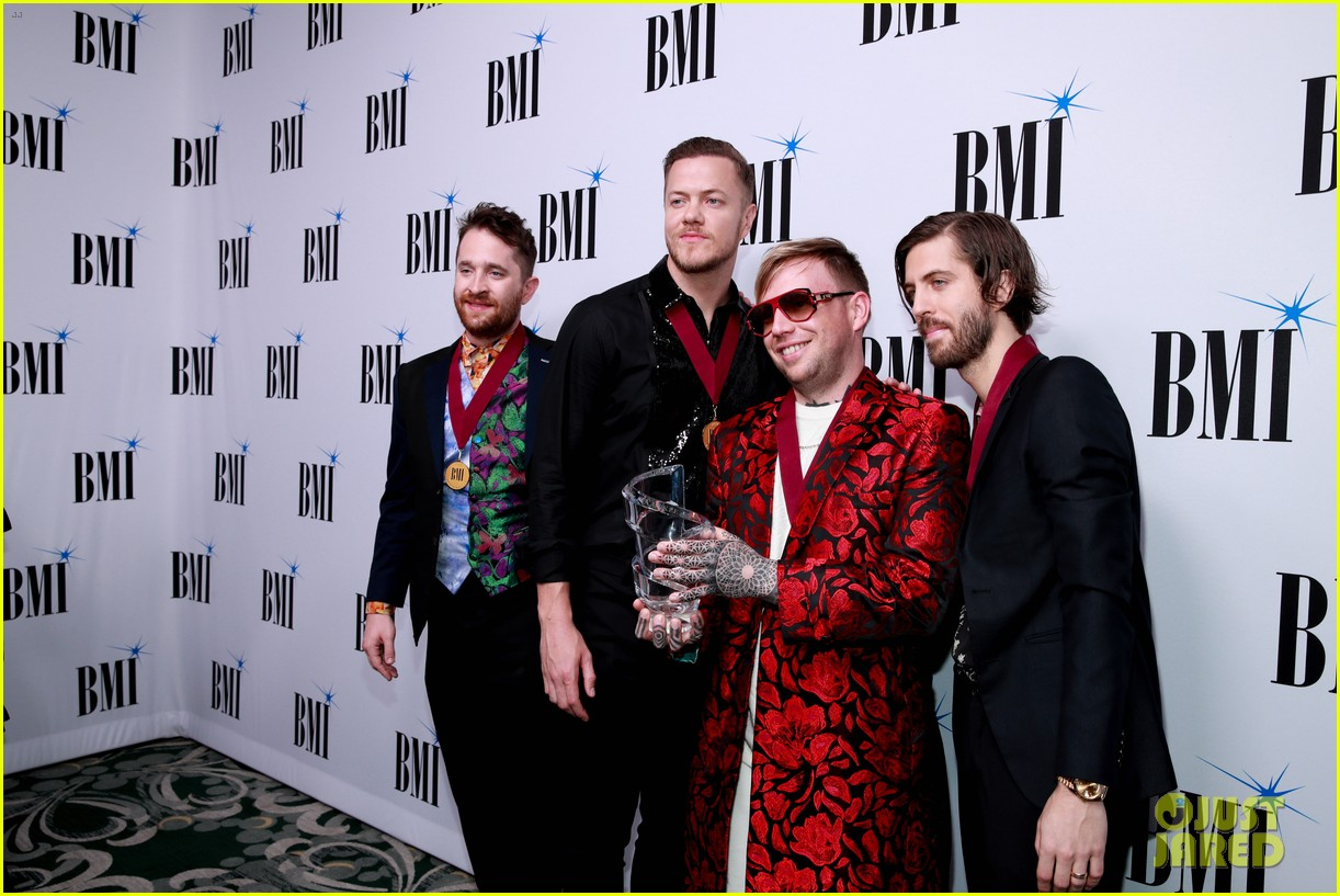 imagine dragons sting bebe rexha honored at bmis pop awards 2019 024291933