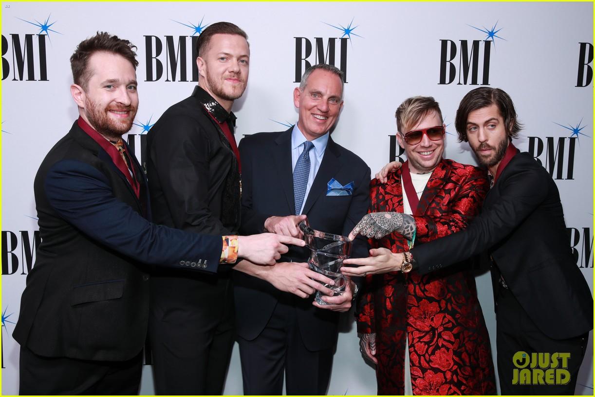 imagine dragons sting bebe rexha honored at bmis pop awards 2019 12