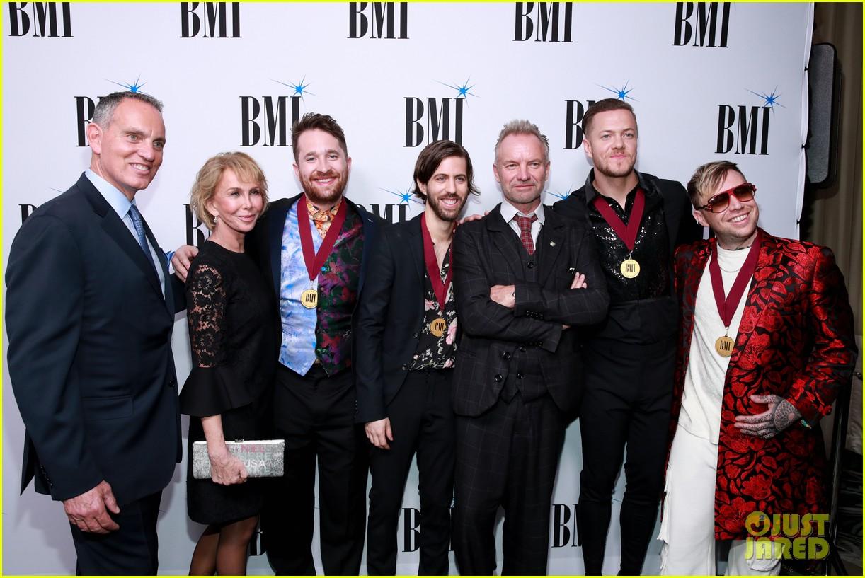 imagine dragons sting bebe rexha honored at bmis pop awards 2019 15