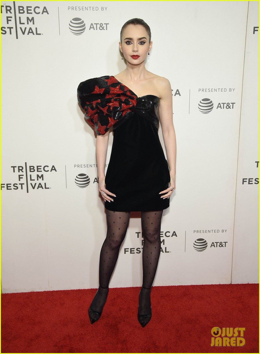 zac efron lily collins extremely wicked tribeca premiere 01