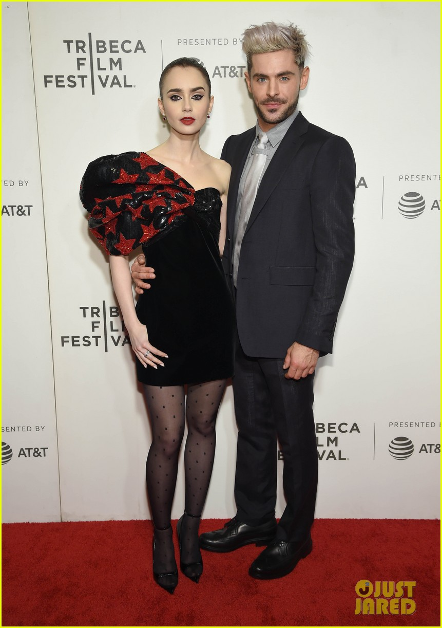 zac efron lily collins extremely wicked tribeca premiere 03