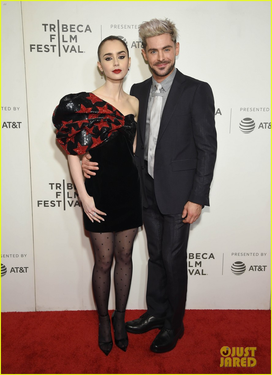 zac efron lily collins extremely wicked tribeca premiere 08