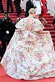 elle fanning floral gown cannes les mis premiere 27