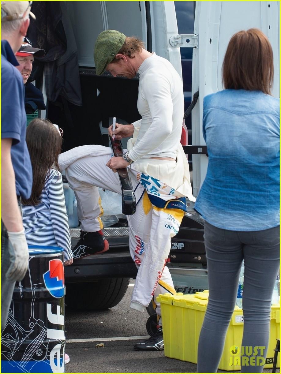 michael fassbender race car driving 014289482