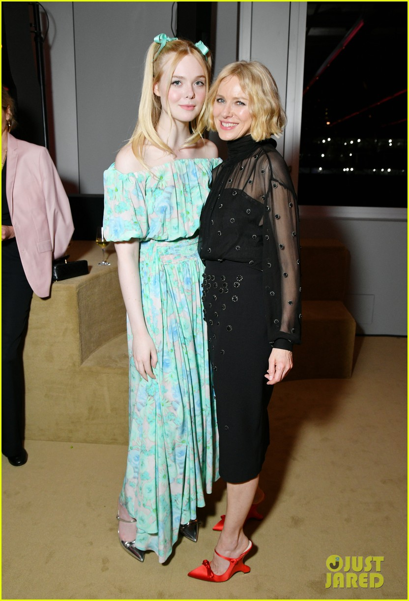 shailene woodley hailee steinfeld elle fanning attend prada resort 2020 fashion show 084282533