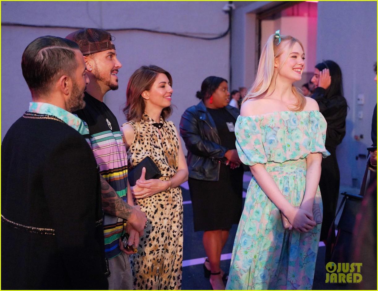 shailene woodley hailee steinfeld elle fanning attend prada resort 2020 fashion show 154282540