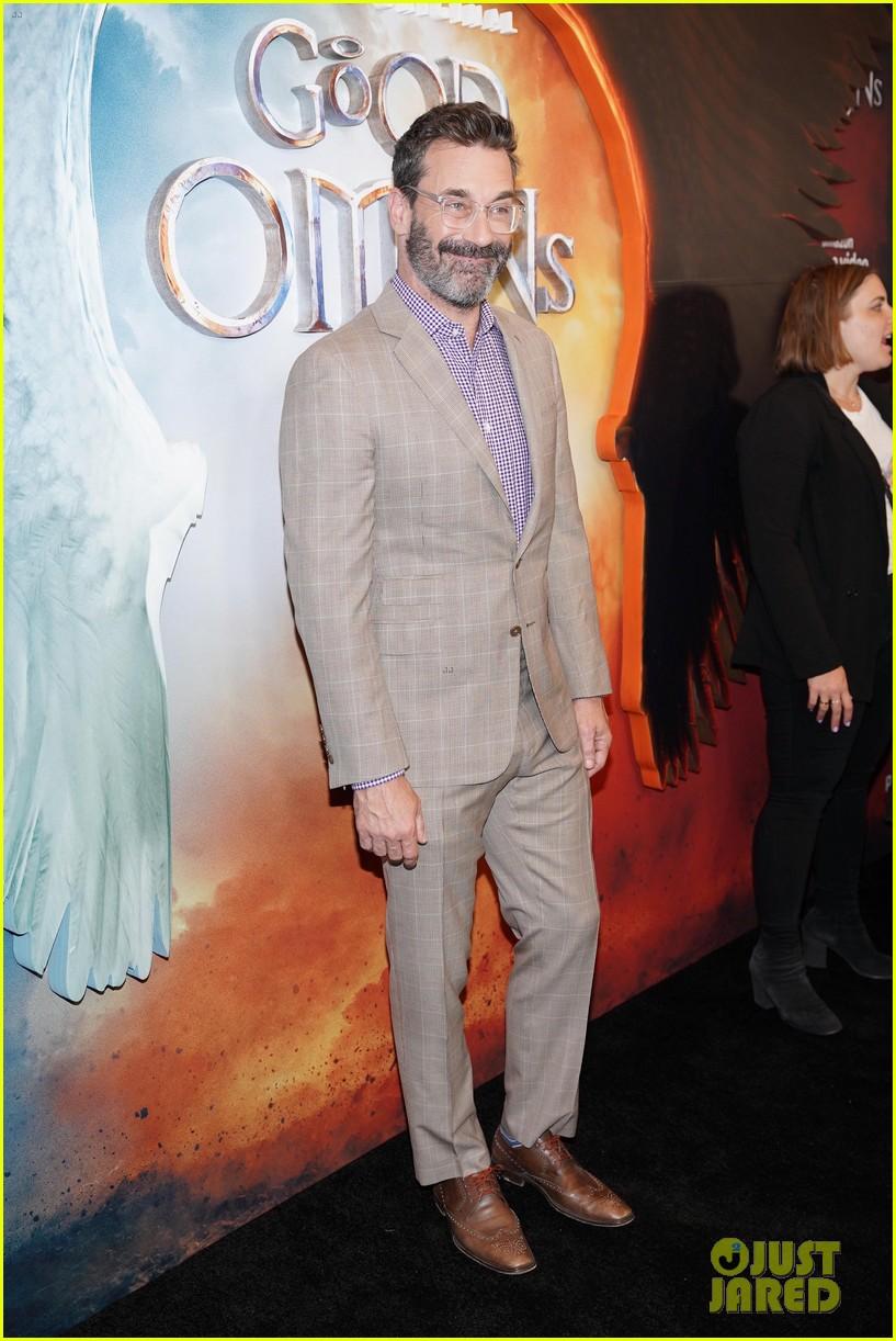 john hamm good omens cast celebrate premiere 114297829