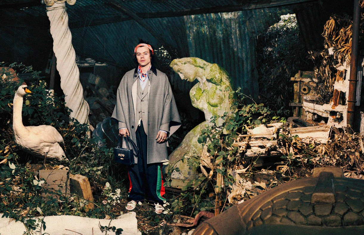 Harry Styles Is Back As The Face Of Gucci In Their New