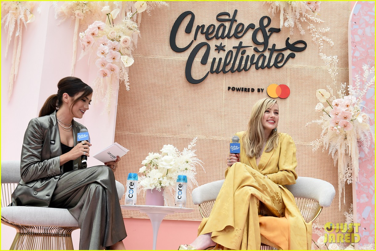 amber heard create and cultivate conference 16