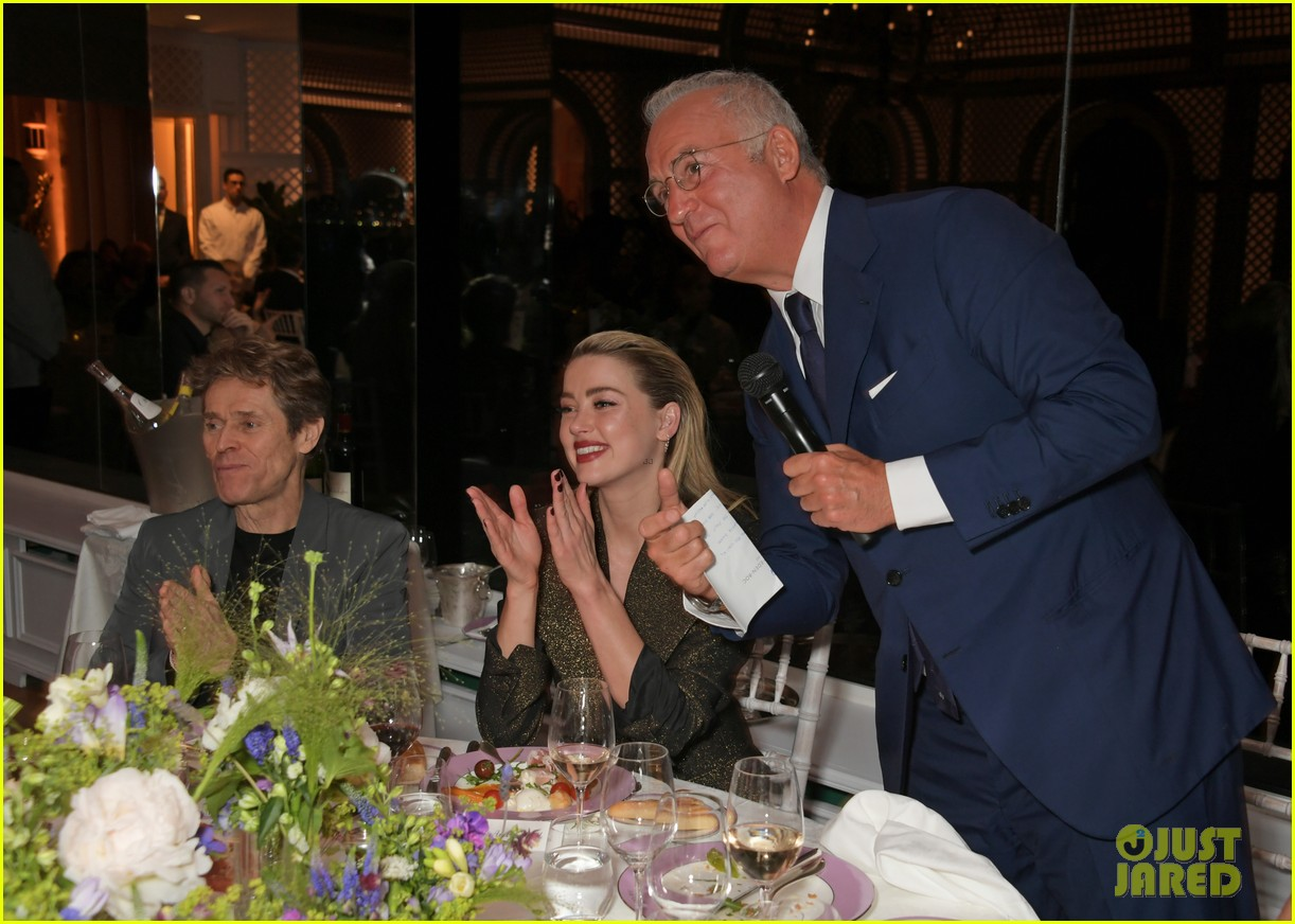 amber heard michael kors dinner cannes 11