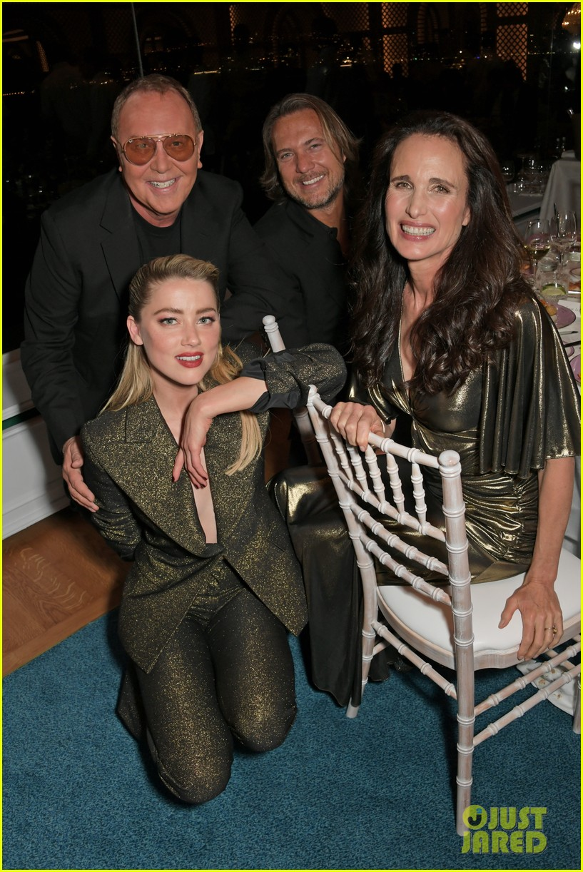 amber heard michael kors dinner cannes 12