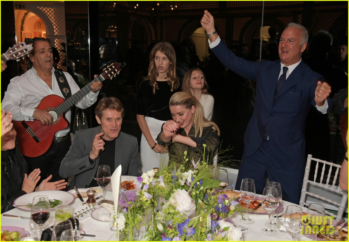 amber heard michael kors dinner cannes 13