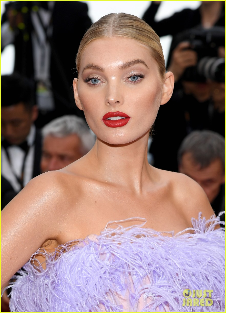 elsa hosk shanina shaik final cannes carpet 13
