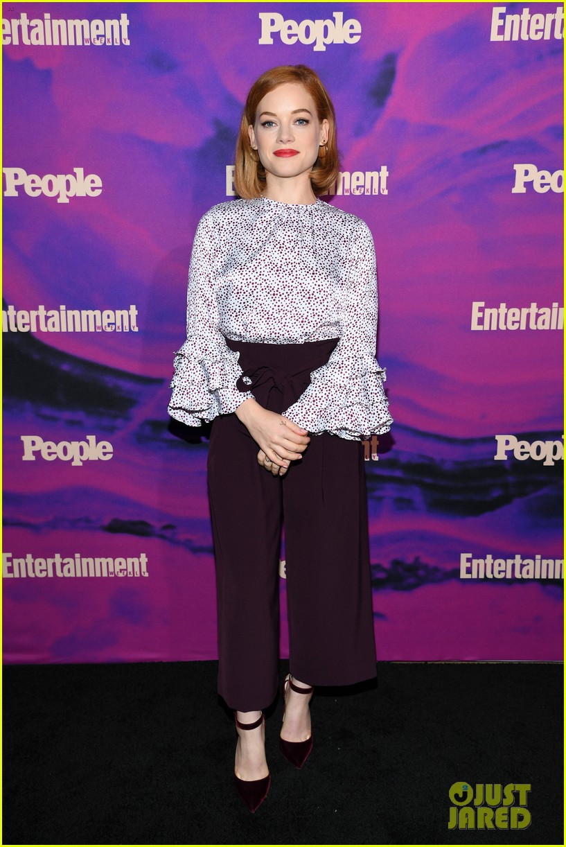 julianne hough josh dallas more tv stars celebrate upfronts at ew people party 10