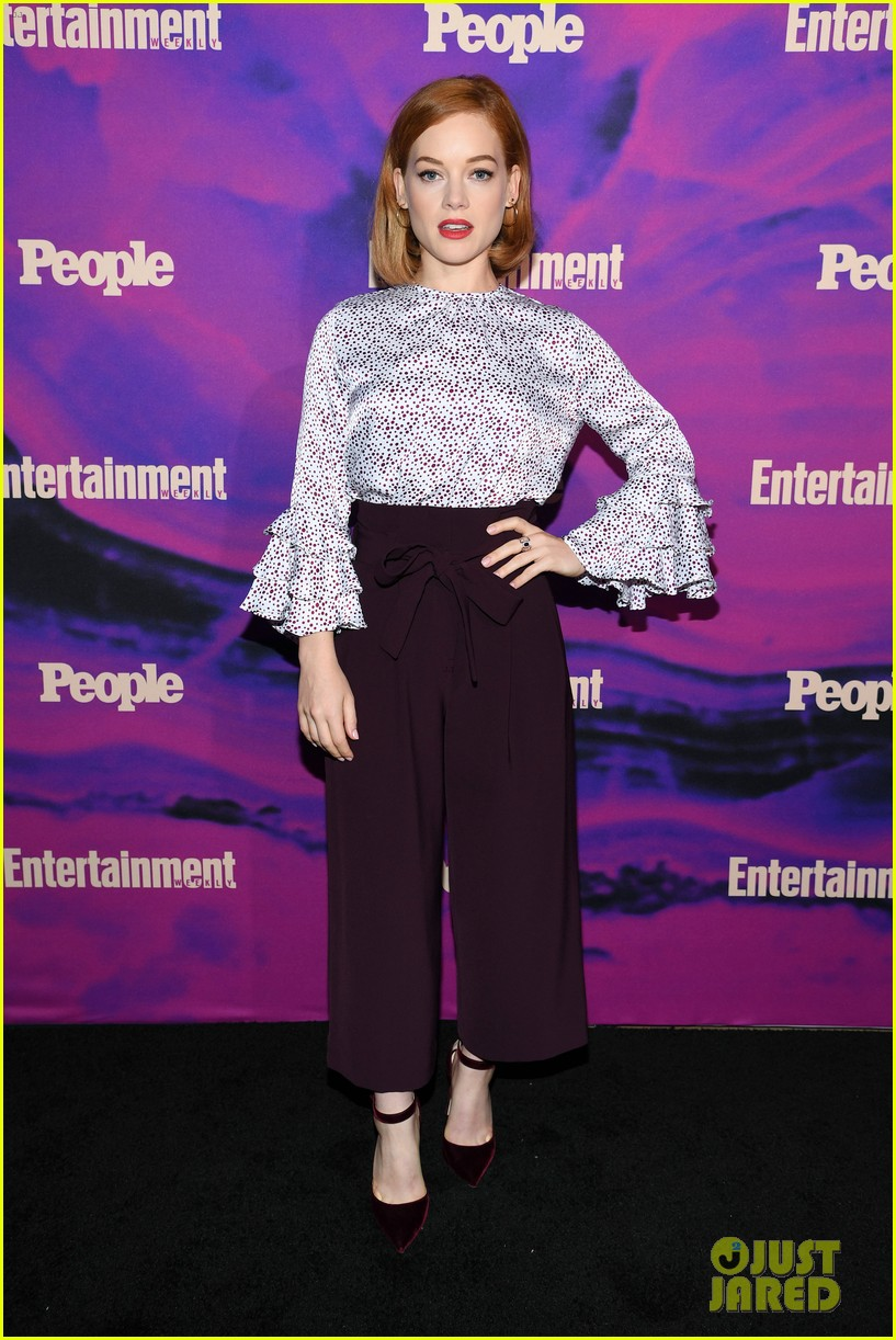 julianne hough josh dallas more tv stars celebrate upfronts at ew people party 11