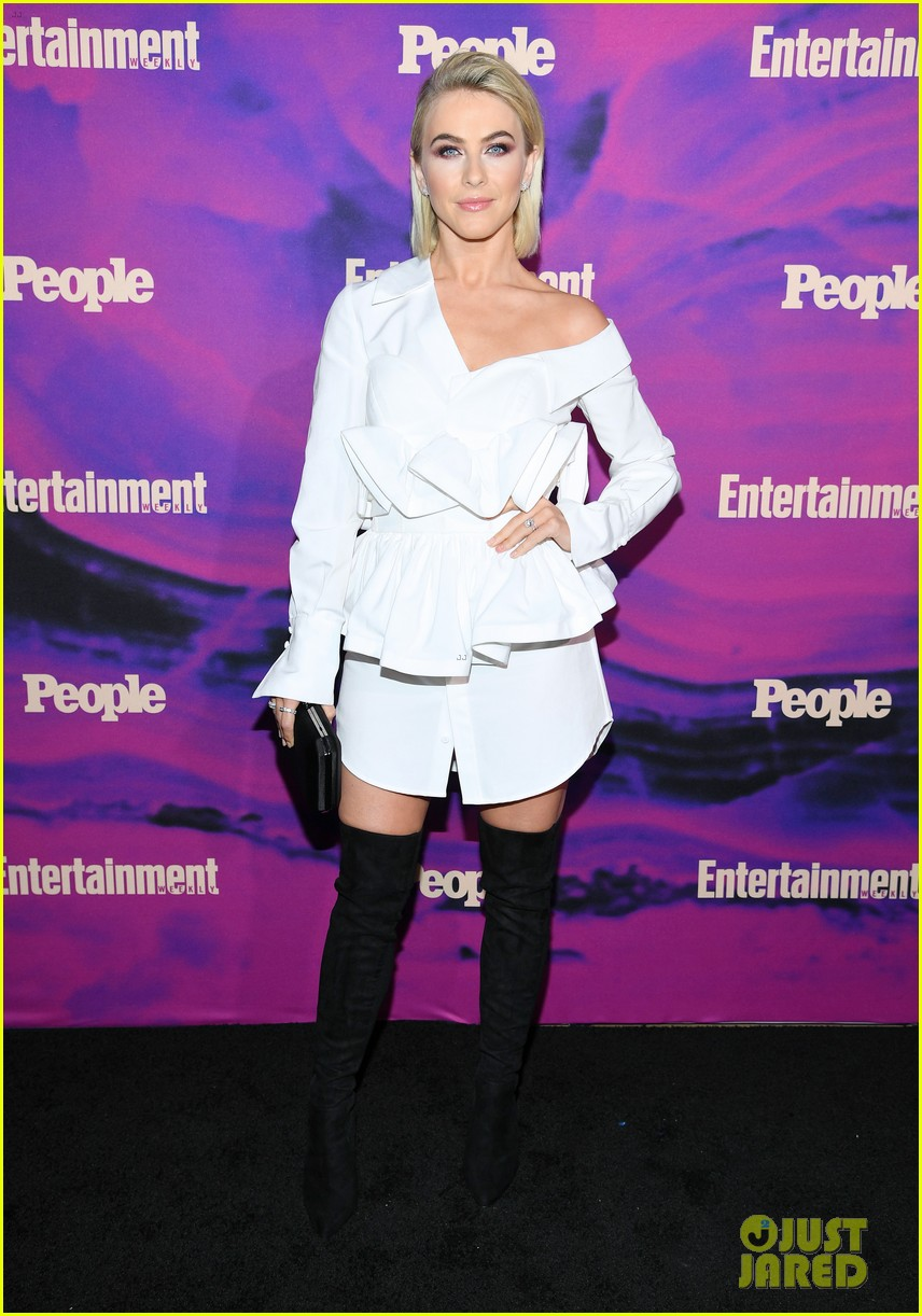 julianne hough josh dallas more tv stars celebrate upfronts at ew people party 274290837