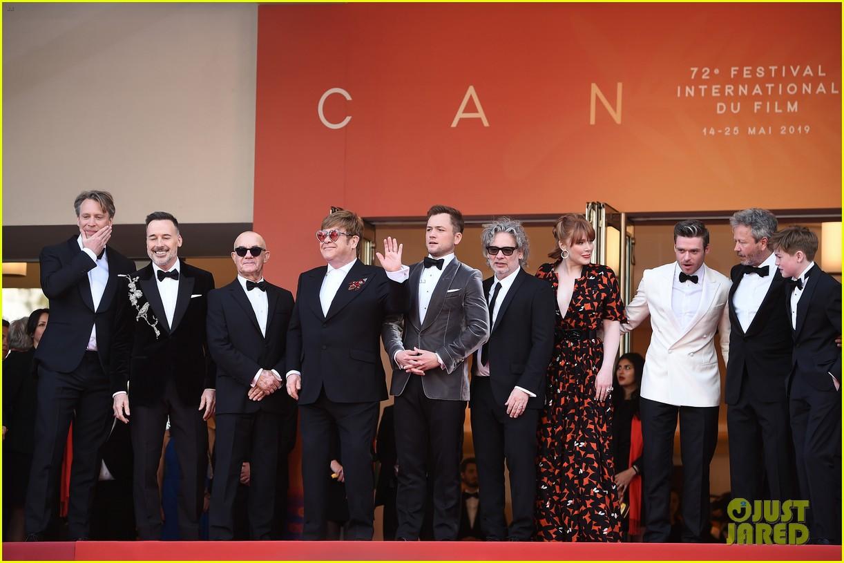 elton john taron egerton rocketman cast celebrate premiere at cannes 2019 094292427