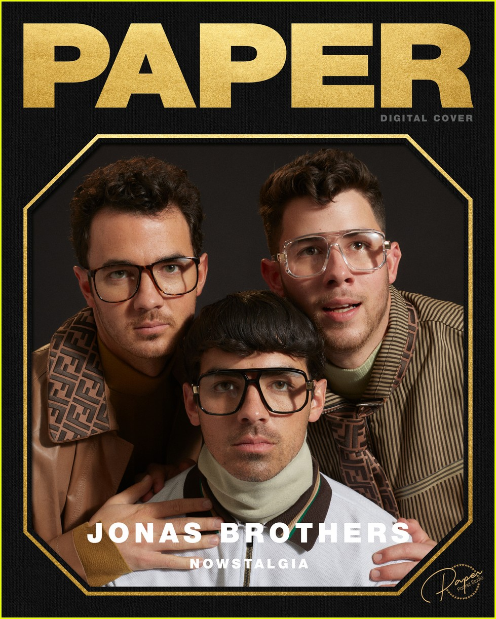 jonas brothers paper magzazine cover 014291683