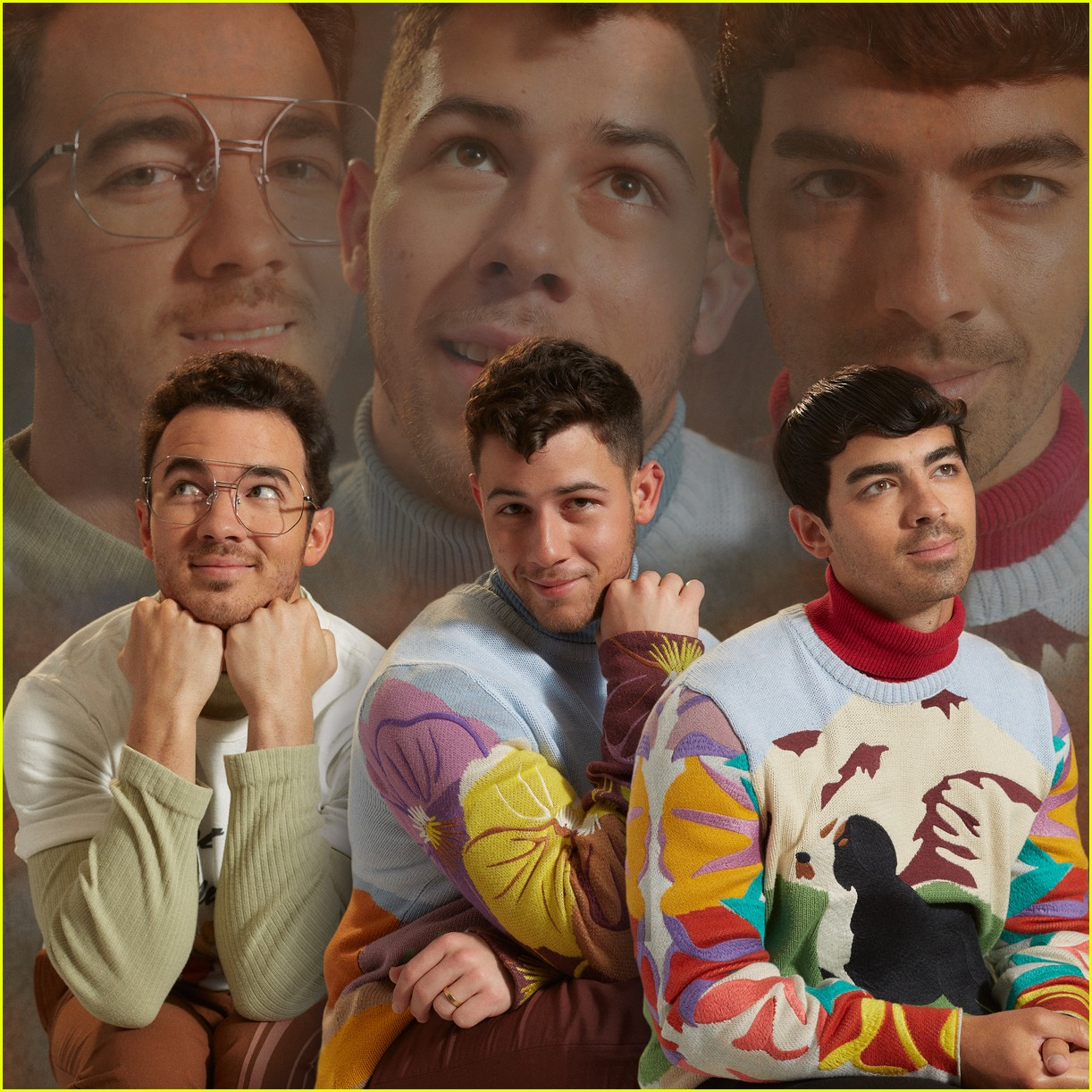 jonas brothers paper magzazine cover 034291685