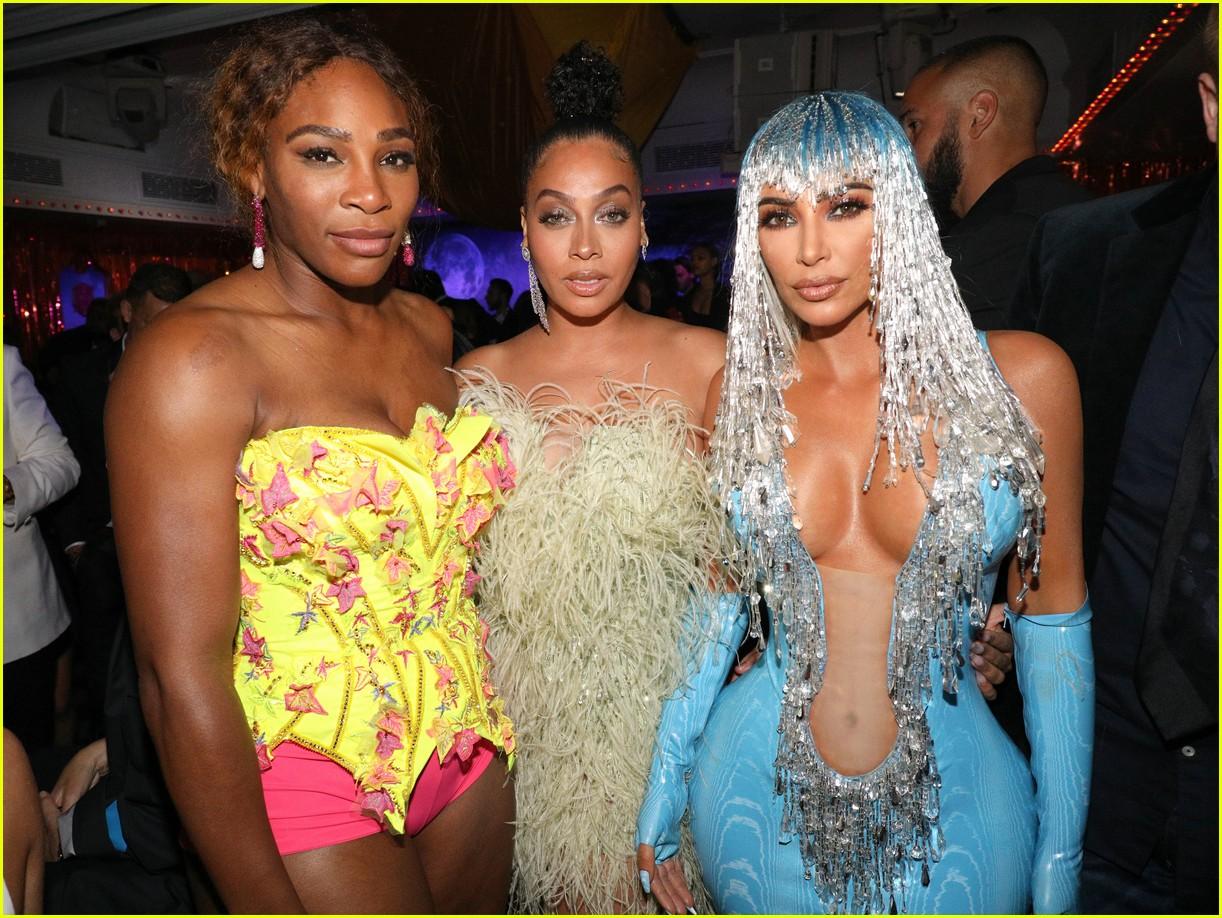 kim kardashian serena williams met gala after party 01