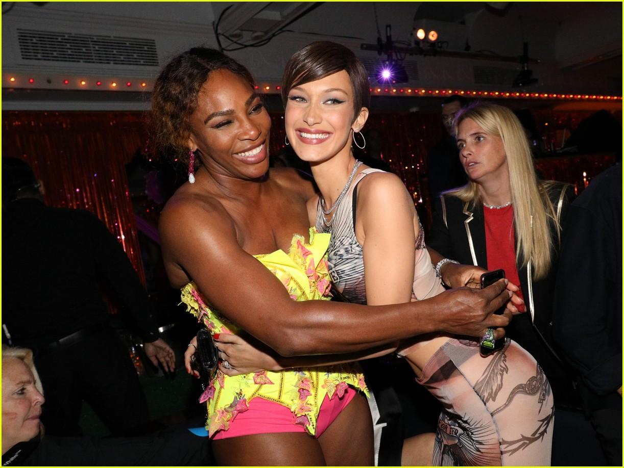 kim kardashian serena williams met gala after party 04