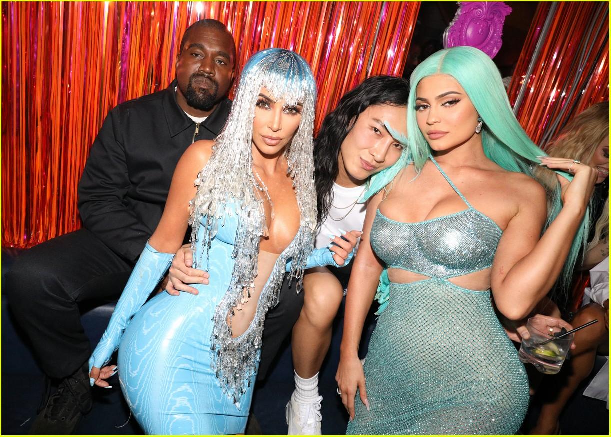 kim kardashian serena williams met gala after party 11