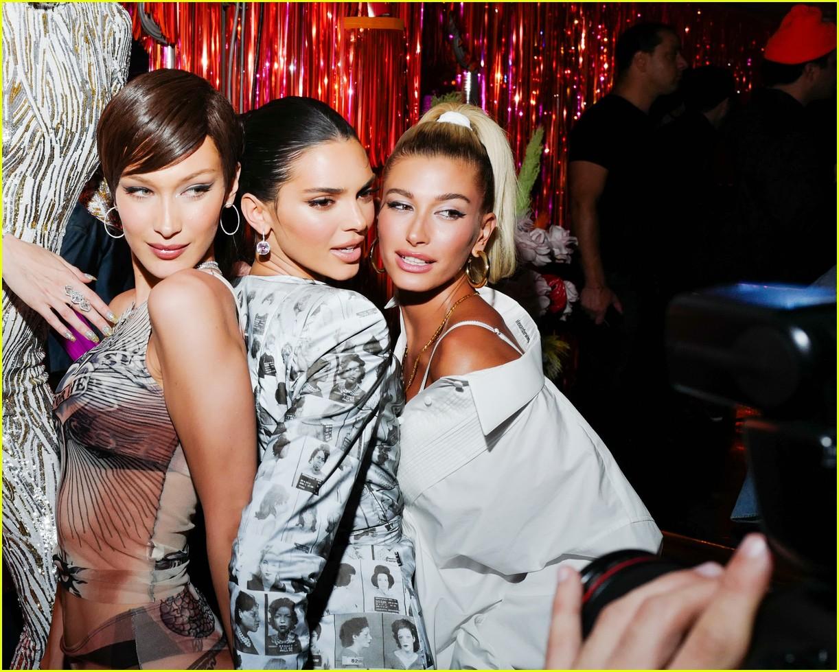 kim kardashian serena williams met gala after party 13