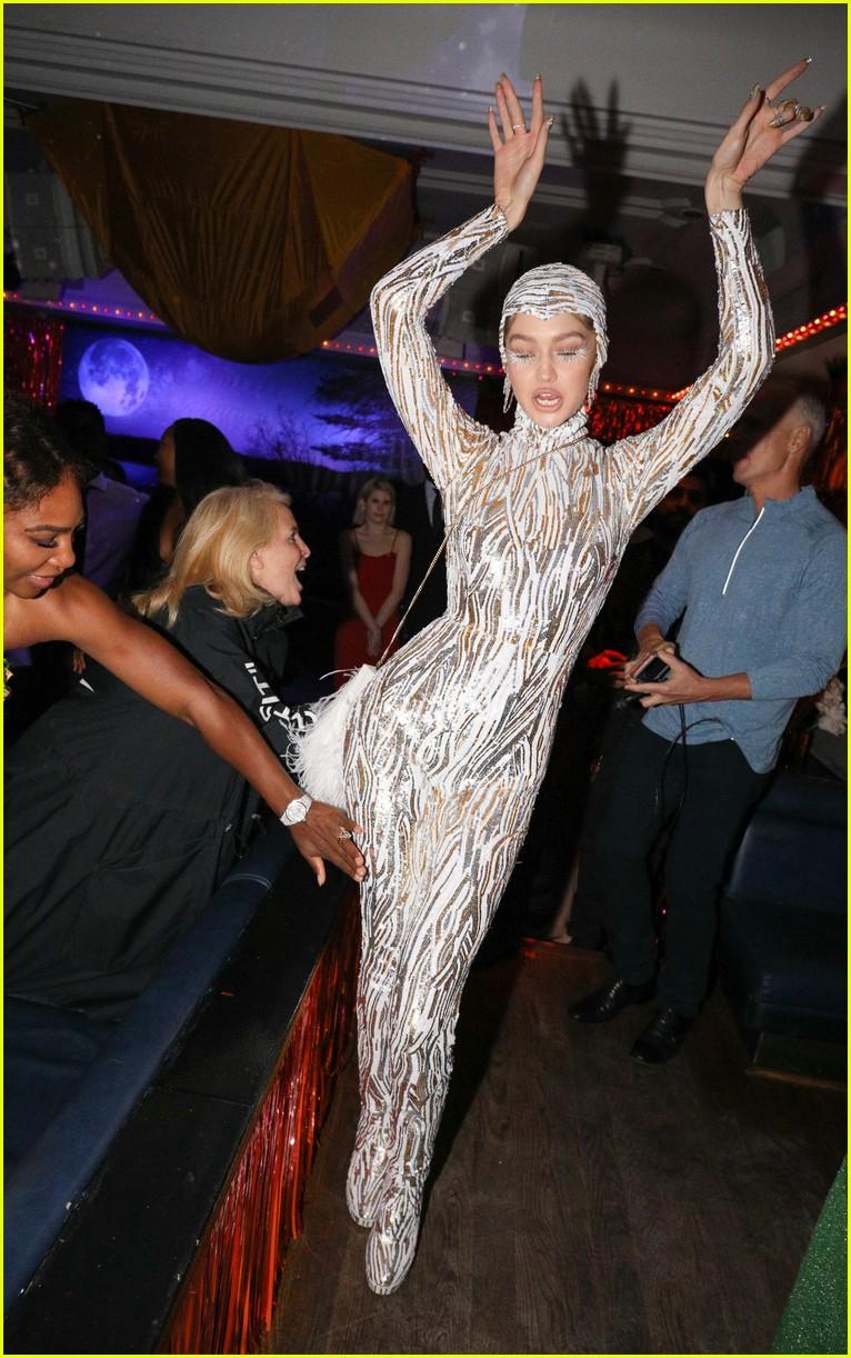 kim kardashian serena williams met gala after party 17
