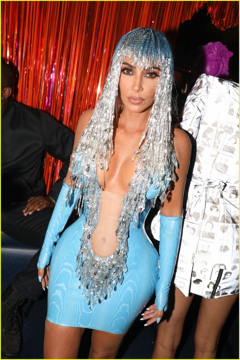 kim kardashian serena williams met gala after party 19