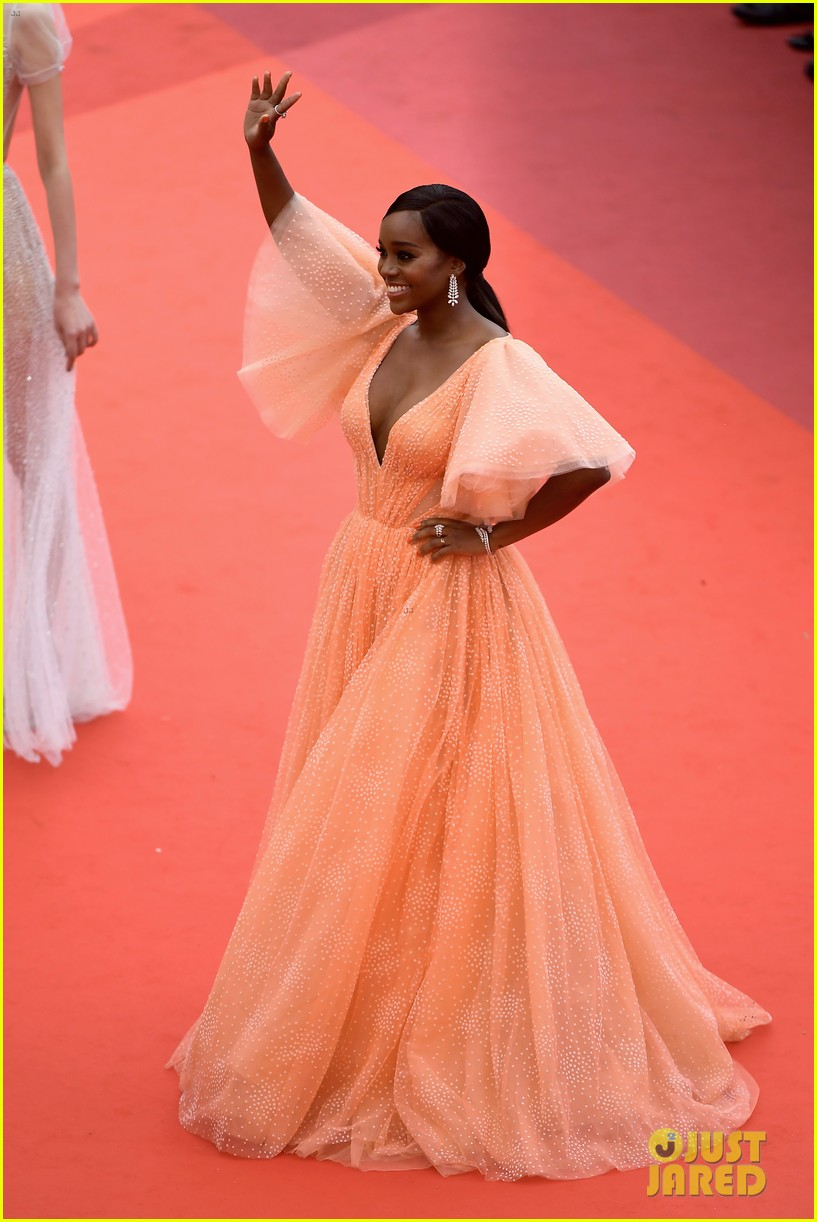 aja naomi king stuns at a hidden life cannes film festival premiere 18