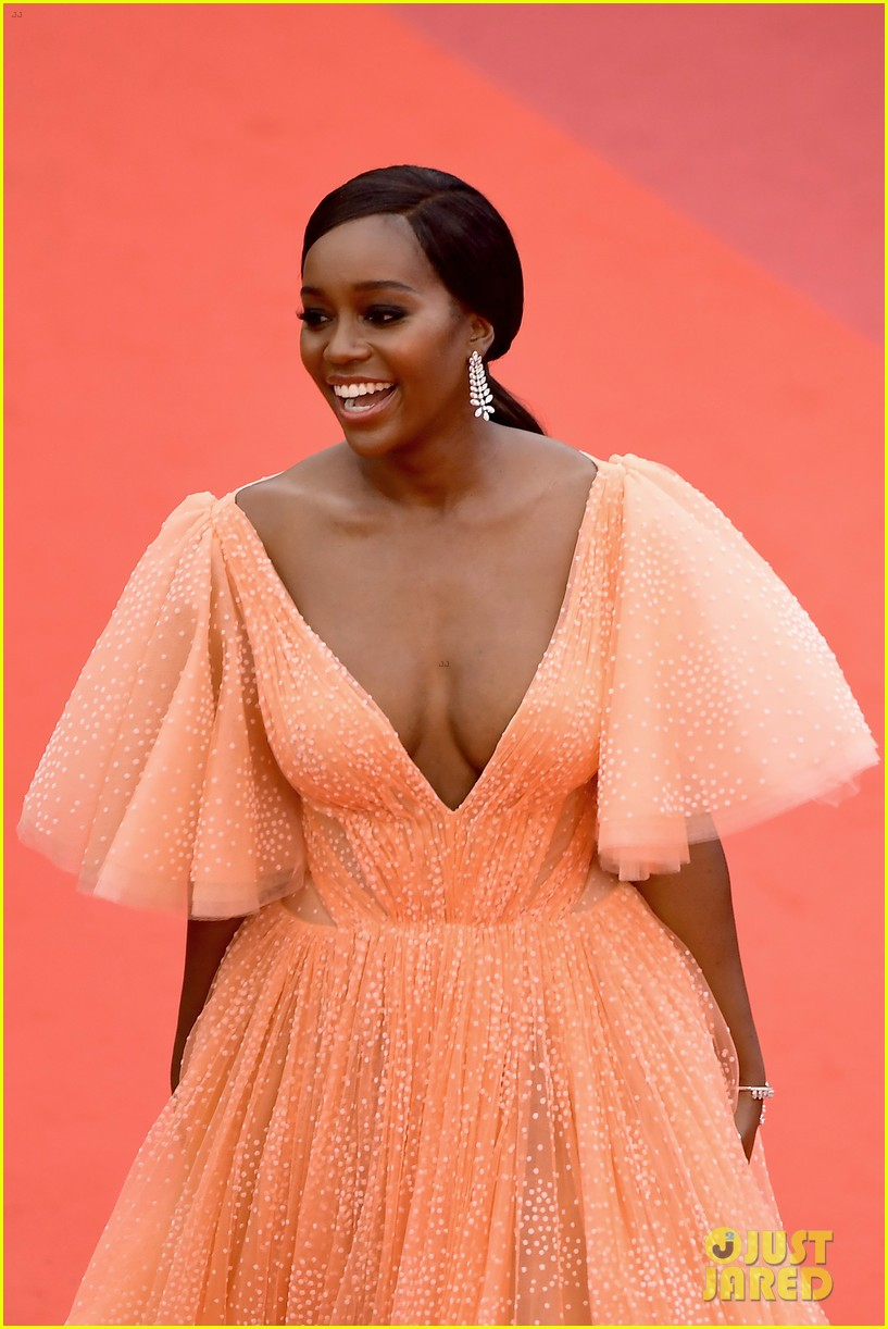 aja naomi king stuns at a hidden life cannes film festival premiere 20