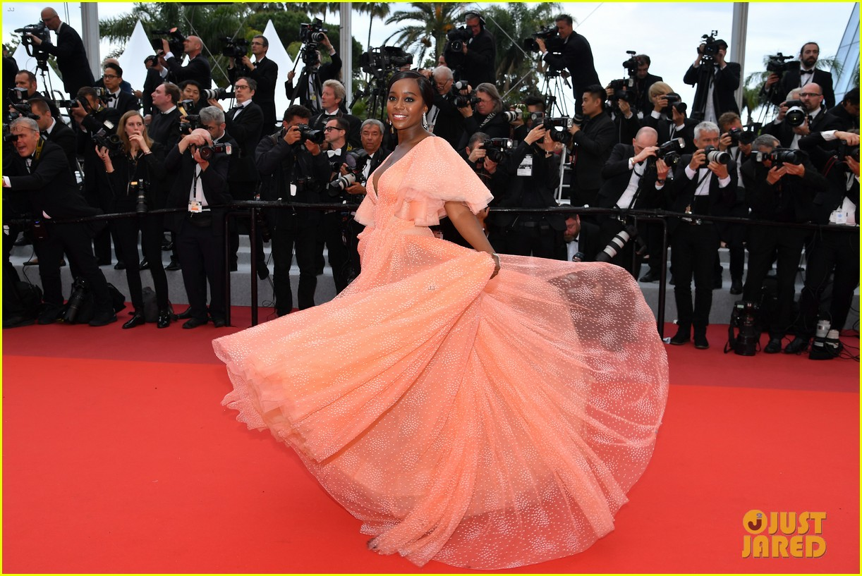 aja naomi king stuns at a hidden life cannes film festival premiere 21