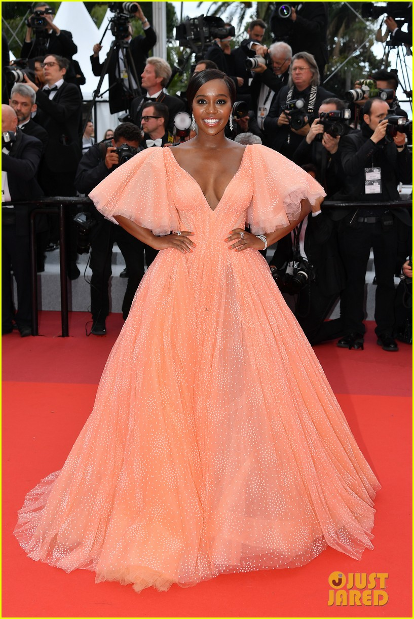 aja naomi king stuns at a hidden life cannes film festival premiere 22