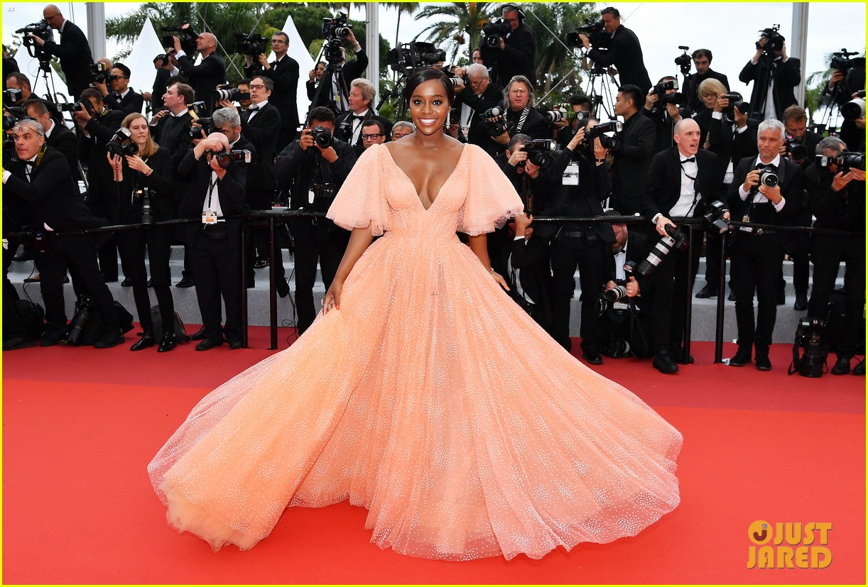 aja naomi king stuns at a hidden life cannes film festival premiere 24