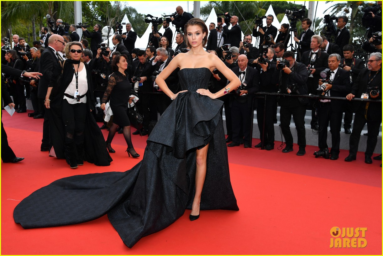 aja naomi king stuns at a hidden life cannes film festival premiere 354295079
