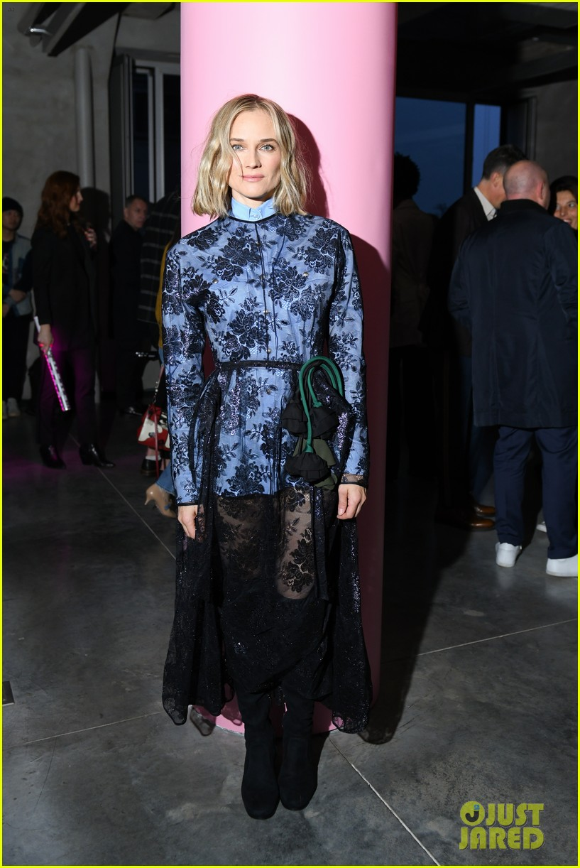 diane kruger lucy boynton more step out for prada resort fashion show 02