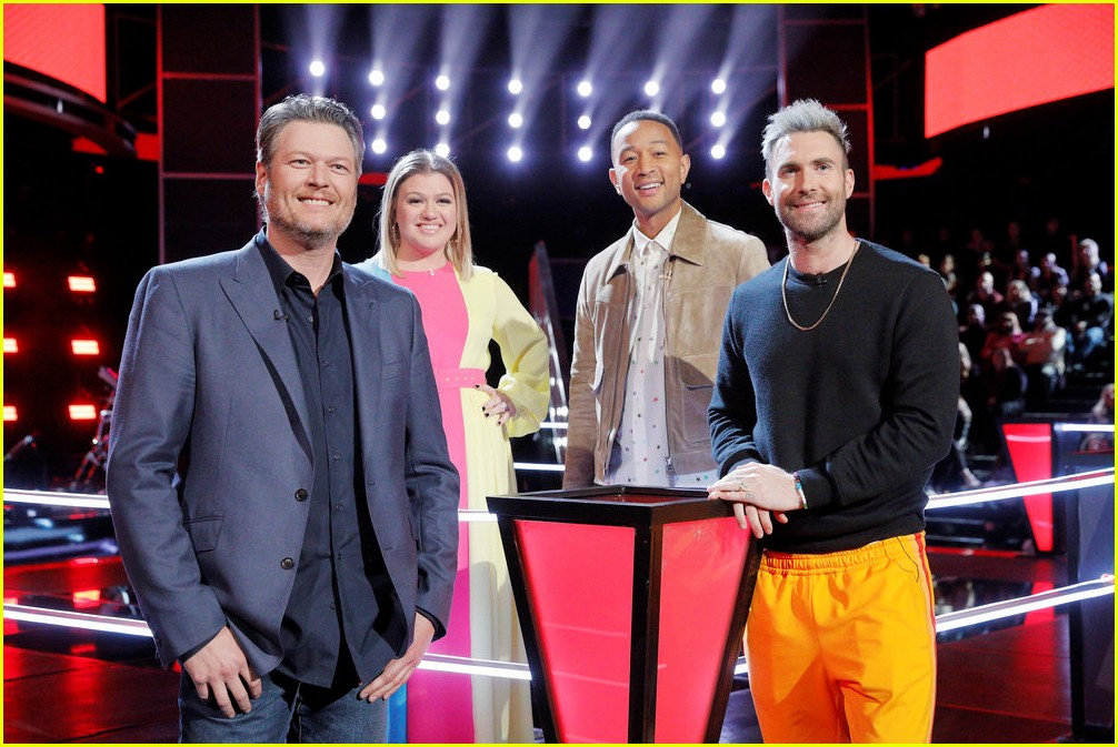 adam levine the voice coaches react 10