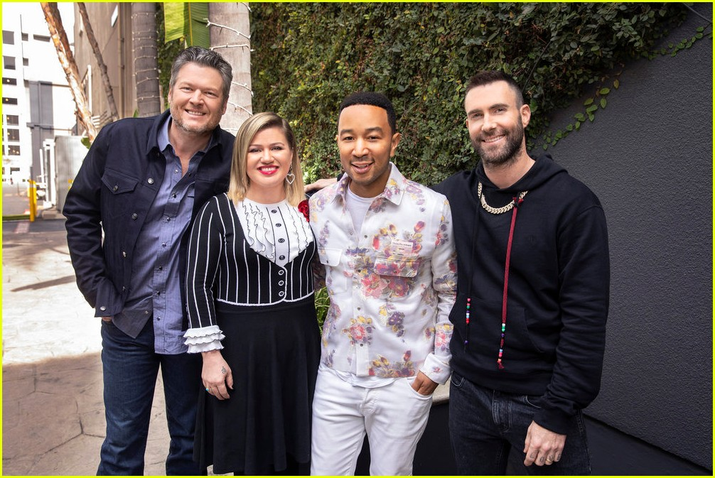 adam levine the voice coaches react 11