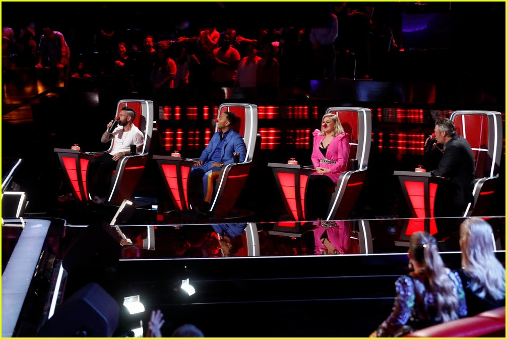 adam levine the voice coaches react 12