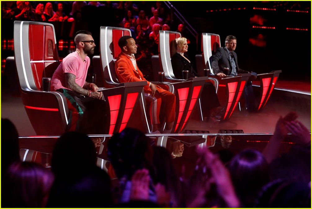 adam levine the voice coaches react 15