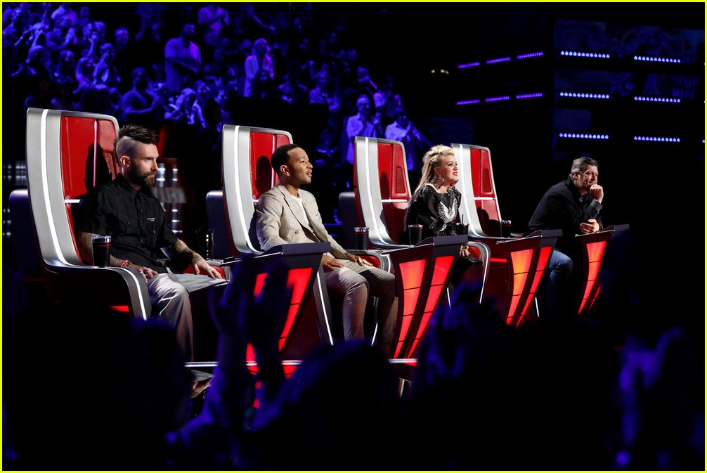 adam levine the voice coaches react 16