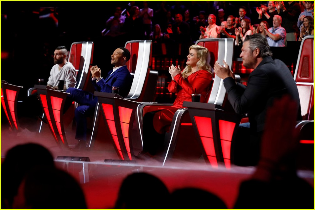 adam levine the voice coaches react 17