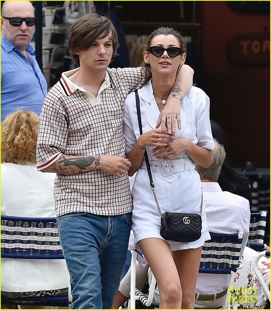 Louis Tomlinson & Girlfriend Eleanor Calder Shop Around ...