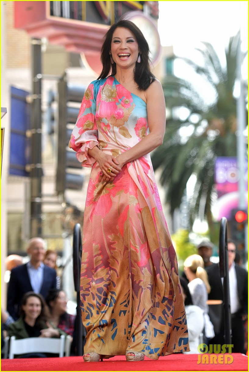 lucy liu hollywood walk of fame may 2019 094280453