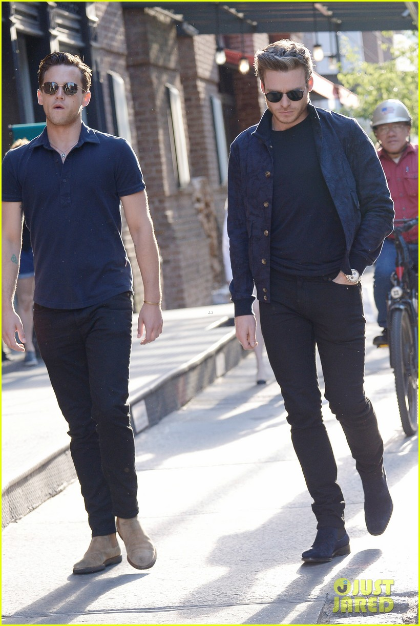 Richard Madden And Boyfriend Brandon Flynn Part 17