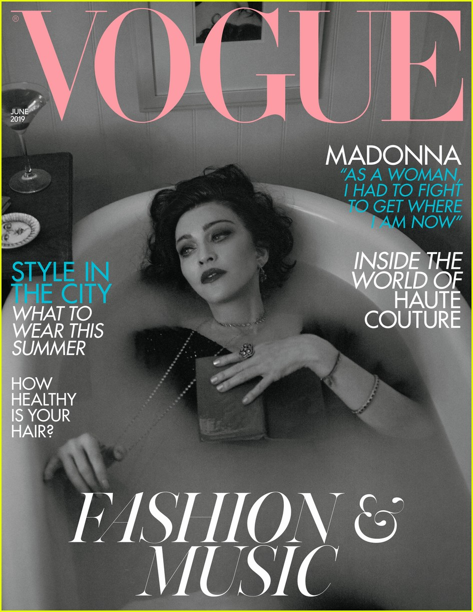 madonna british vogue cover 02