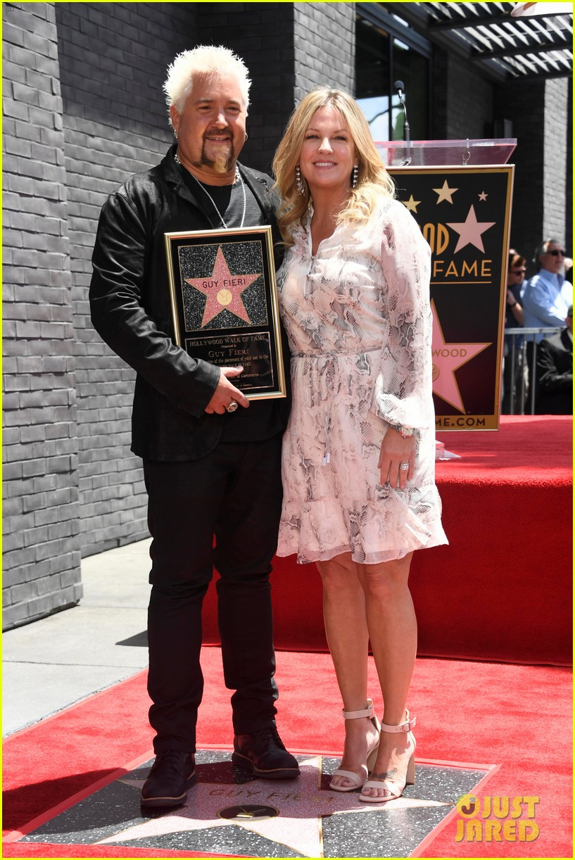 matthew mcconaughey helps present guy fieri with star on hollywood walk of fame 04