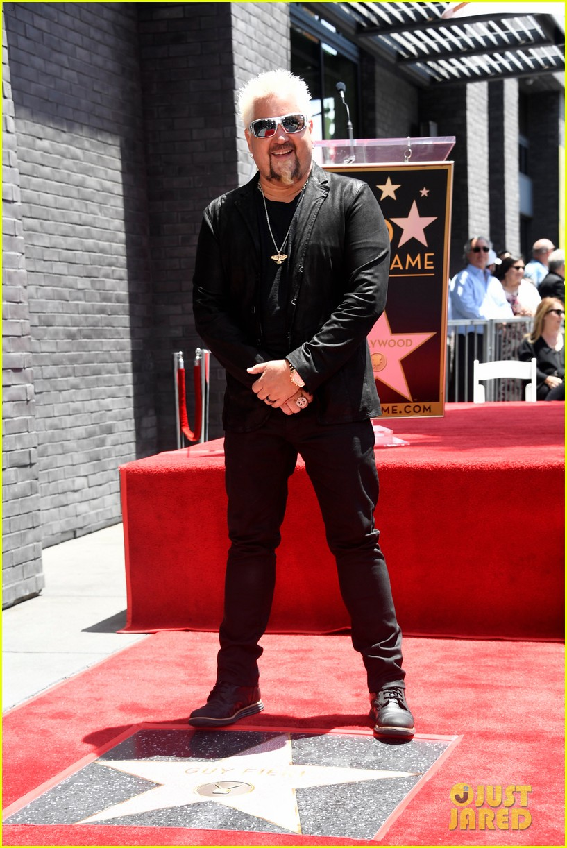 matthew mcconaughey helps present guy fieri with star on hollywood walk of fame 10